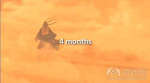 最初4个月