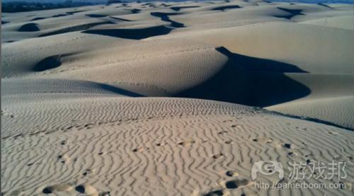 真正的沙漠