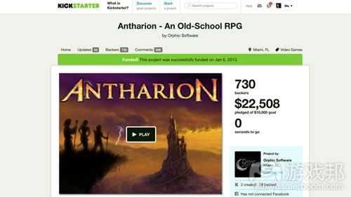 Antharion(from gamasutra)
