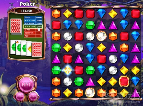 Bejewelled 3(from gamasutra)