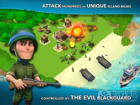 """从《Boom Beach》看游戏开发的""""自我补充""""策略"""