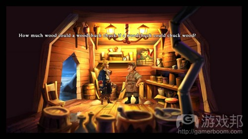 The Monkey Island HD(from gamasutra)