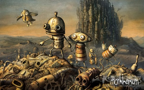 machinarium(from gameacademy)