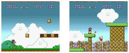 super mario brothers(from thegamedesignforum)