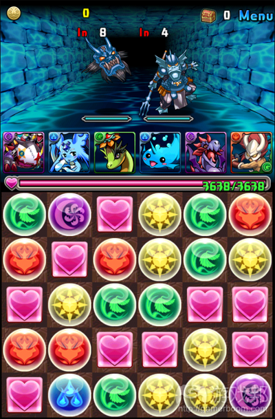 Puzzle & Dragons(from usgamer.net)