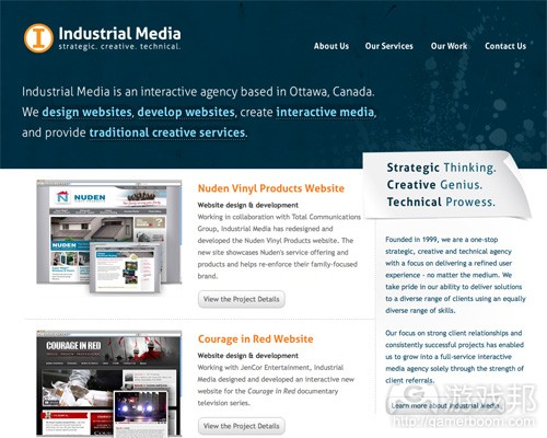 industrialmedia(from smashingmagazine)