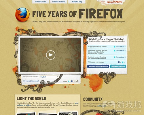 spreadfirefox(from smashingmagazine)