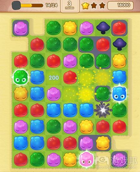 wooga-jelly-splash(from pocketgamer)