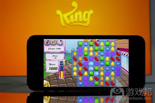 King Candy Crush Saga(from shouyou.com)