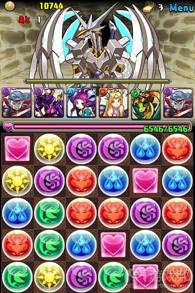 Puzzle & Dragons(from joyme.com)
