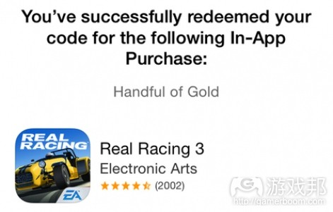 real racing in app purchase(from pocketgamer)