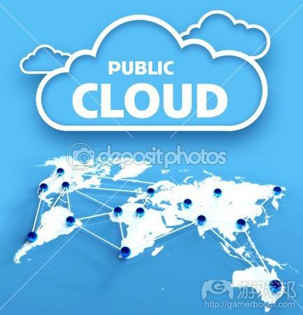 Public cloud(from depositphotos)