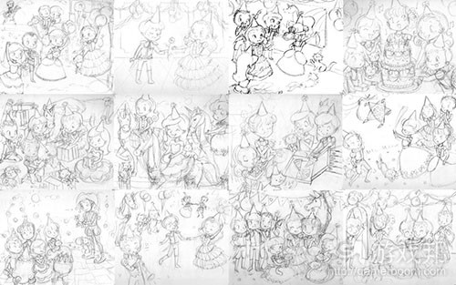 all-sketches(from gamasutra)