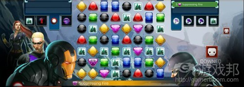 Marvel Puzzle Quest(from gamasutra)