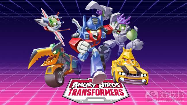 Angry Birds Transformers(from insidemobileapps.com)
