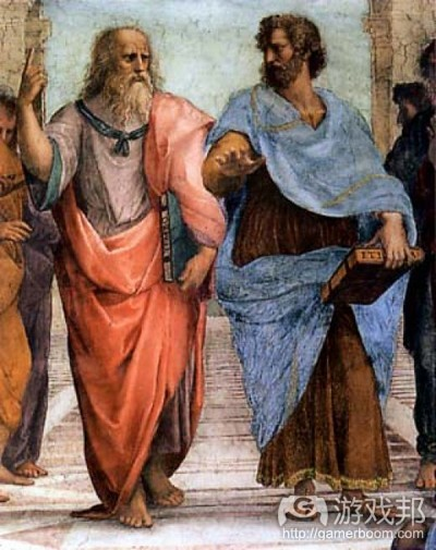 Plato & Aristotle(from niallmarkey.hubpages.com)