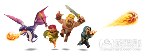 clash of clans characters(from pocketgamer.biz)