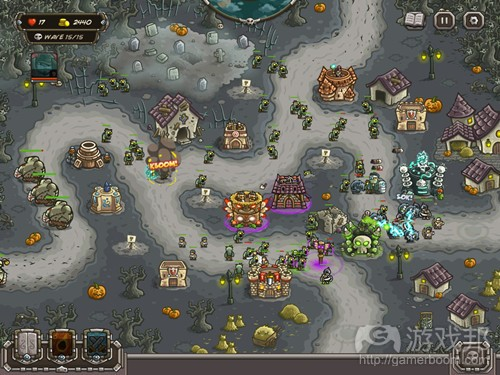Kingdom Rush Frontiers(from polygon)