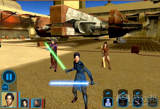 Star Wars Knights of the Old (from joystiq.com)
