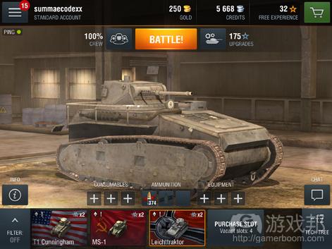 World of Tanks Blitz(from pocketgamer.biz)