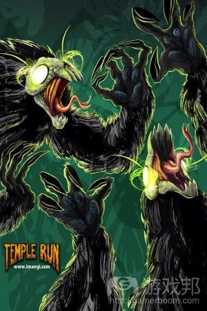 temple run(from zhihu.com)