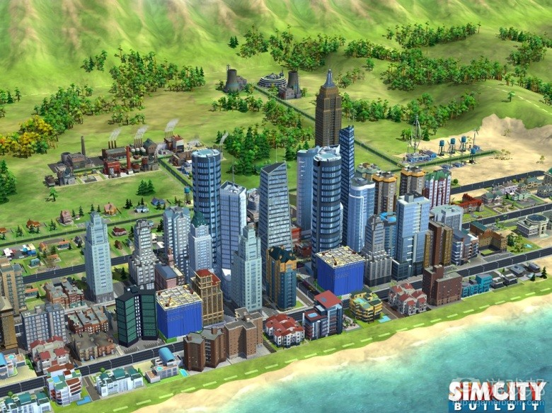 SimCity BuildIt(from venturebeat.com)