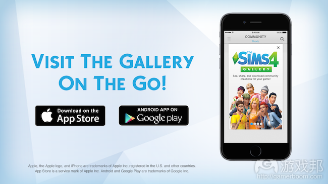 The Sims 4 Gallery(from insidemobileapps.com)