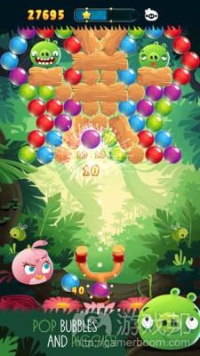 每日观察:关注新游戏Angry Birds:Stella Pop3.13