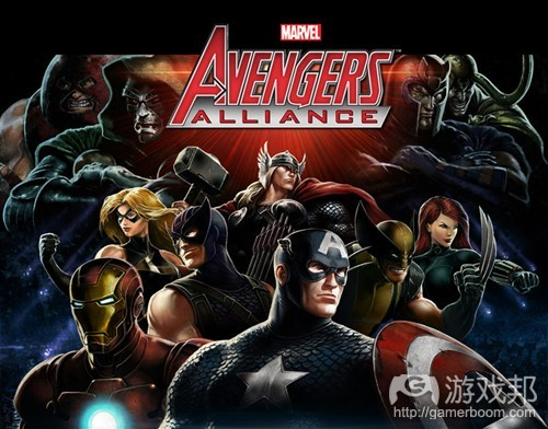 Avengers Alliance(from insidesocialgames)