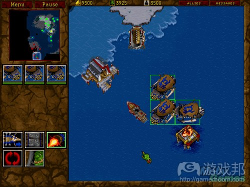 warcraft-ii-tides-of-darkness-demo-version-dos-screenshot(from gamedev)