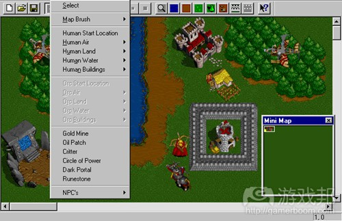 warcraft-ii-tides-of-darkness-dos-screenshot-using-the-editor(from gamedev)