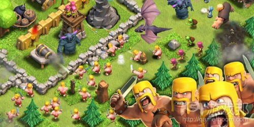 clash of clans(from develop-online)