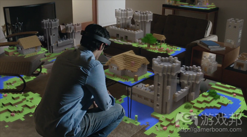 HoloLens in action(from venturebeat)