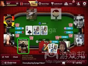 Zynga Poker(from iphone.tgbus)