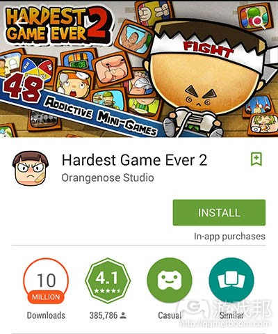 hardest game ever(from gamasutra)