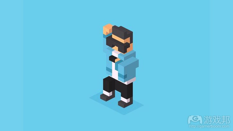 crossy road gang am style(from gamezebo.com)