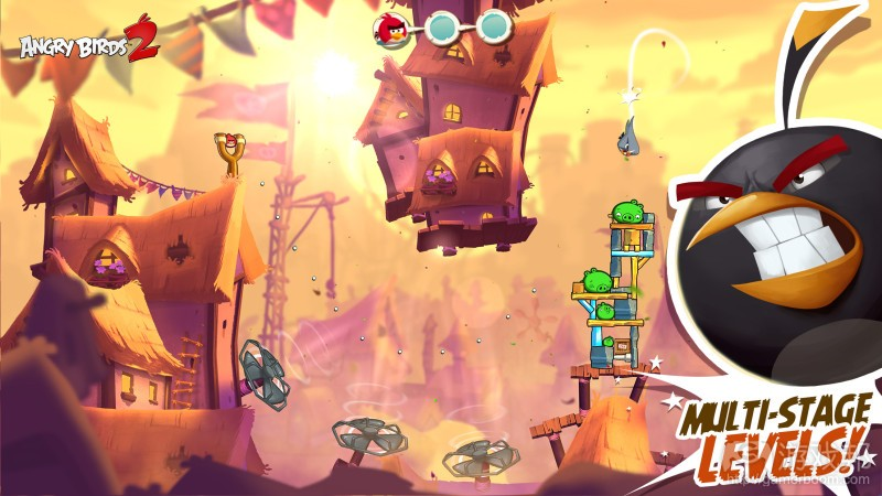 angry birds2(from venturebeat.com )