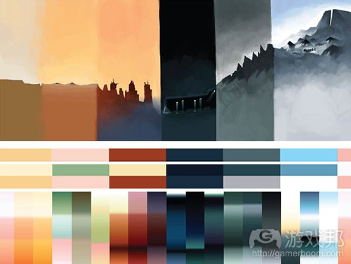 journey_colors(from gamasutra)