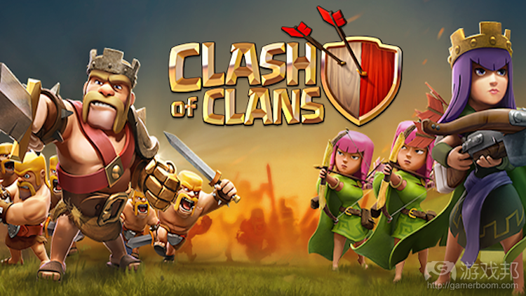 clash of clans(from gamezebo.com)