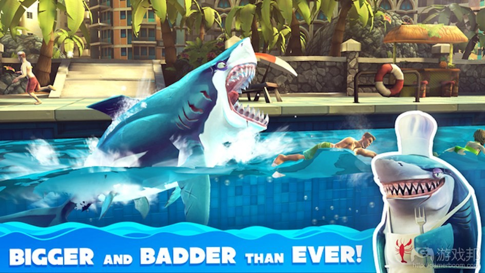 hungry shark(from gamezebo.com)