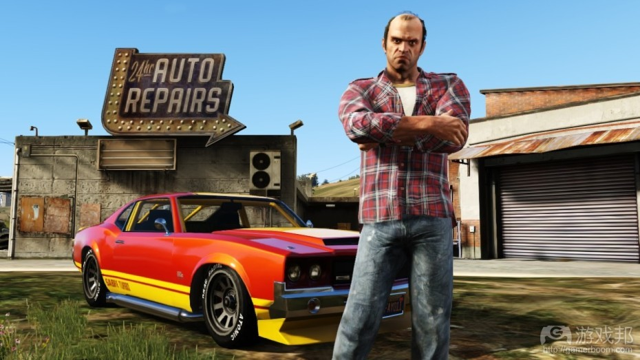 Grand Theft Auto V(from venturbeat.com)