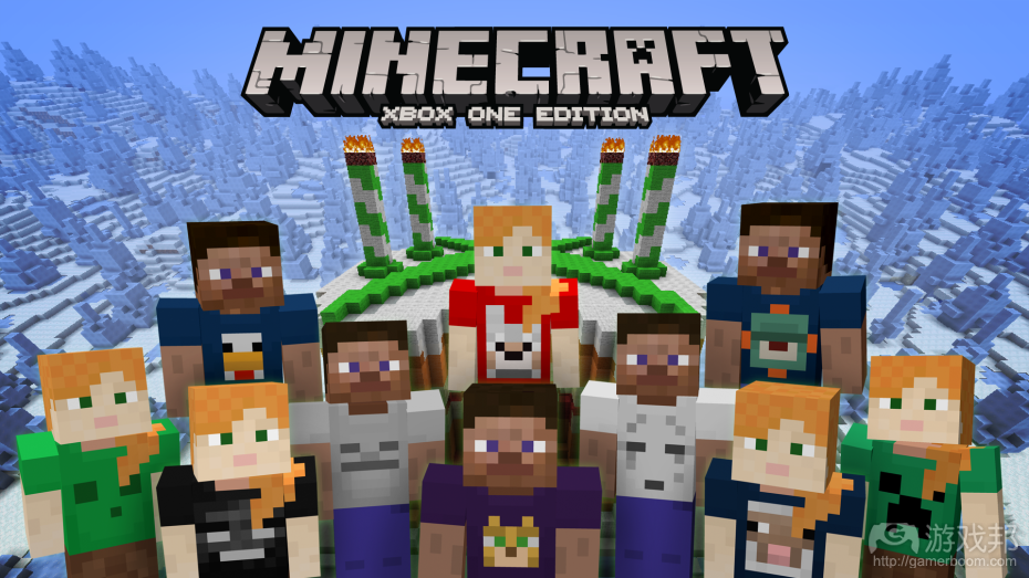 Minecraft(from venturbeat.com)
