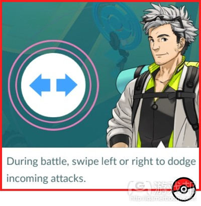 swipe to dodge(from gamasutra)