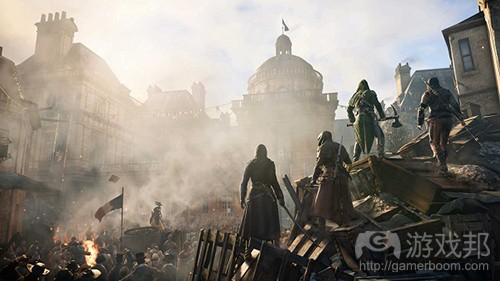 Assassin's Creed Unity(from gamasutra)