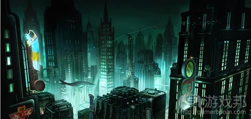bioshock-rapture-city(from gamasutra)