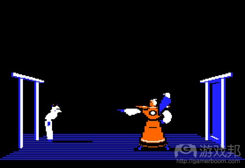karateka(from gamasutra)