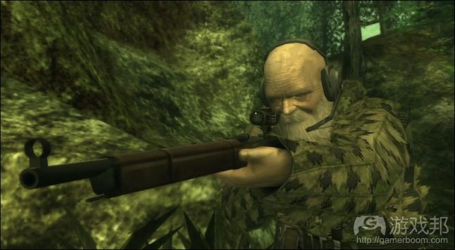 Metal Gear Solid 3(from gamasutra.com)