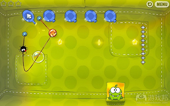 Cut The Rope(from gamesindustry.biz)