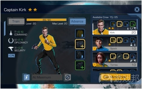 star trek timelines(from pocketgamer.biz)