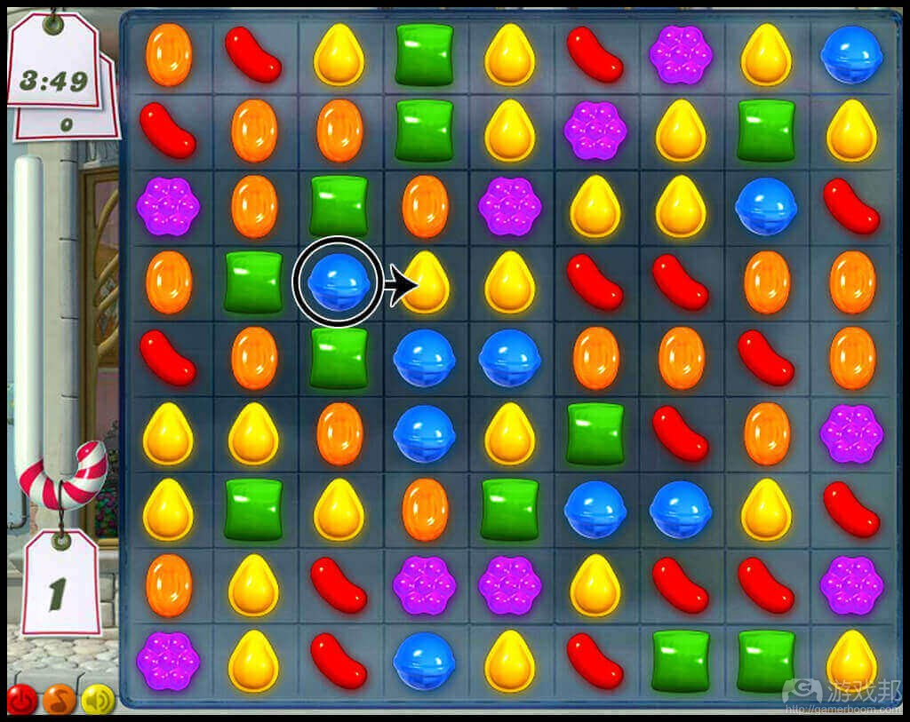 Candy Crush(from gamasutra.com)